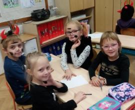 Projekt Čertí škola - 1. r.