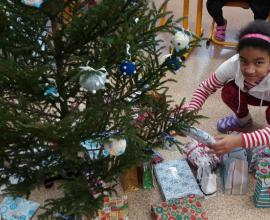 Vánoční posezení ve 4. ročníku