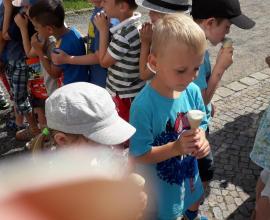 Na zmrzlině...