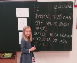 Projekt Indiáni - 1. r.
