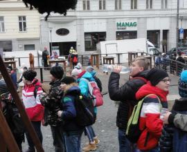 Exkurze - Vánoční Brno, 6. - 8. r.