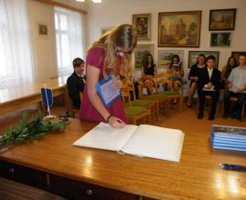 Slavnostní rozloučení se žáky 9. ročníku