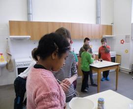 Kroužek německého jazyka - pečeme podle receptu - Kaiserschmarrn