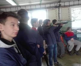 Návštěva SOŠ Nové Město na Moravě - Petrovice