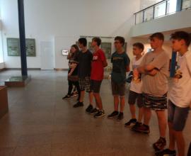 Školní výlet - Brno - Antropos - 8. ročník