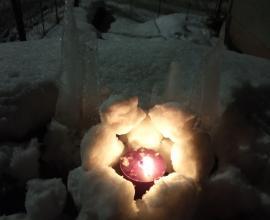 Tvoříme ze sněhu a ledu