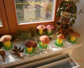 Podzimní tvoření u Včeliček