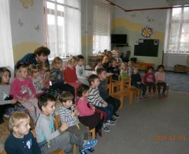 Mikuláš ve školce