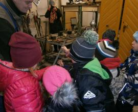 Návštěva kovárny u Frömmelových